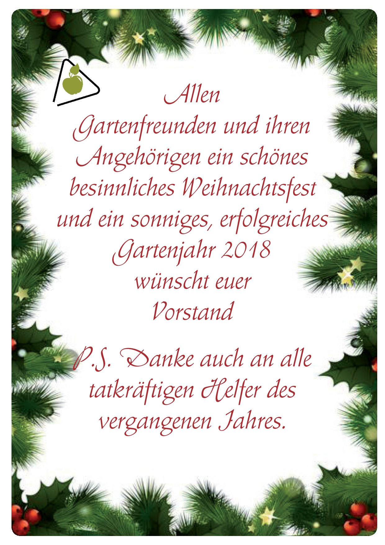 Wir wunschen frohe weihnachten text